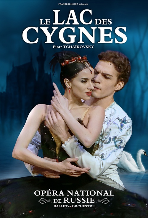 Affiche. Forest National. Opéra National de Russie. Le Lac des cygnes. 2018-04-29