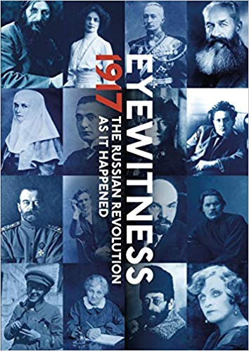 Couverture. Fontanka. Eyewitness 1917. The Russian Revolution as it Happened. 2019-07-03