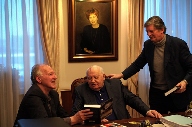 Illustration. Beaux-Arts. Meeting Gorbachev, de Werner Herzog & André Singer. 2019-06-13