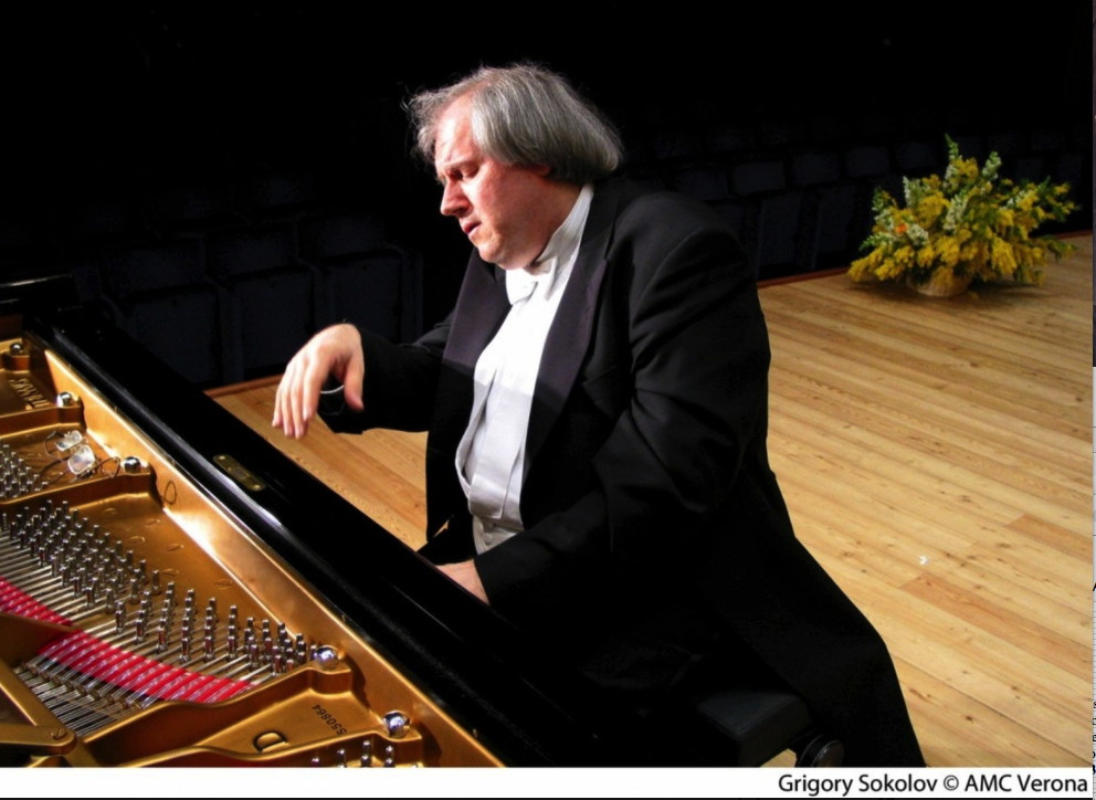 Portrait. Beaux-Arts. Concert Grigory Sokolov (piano). 2018-04-17